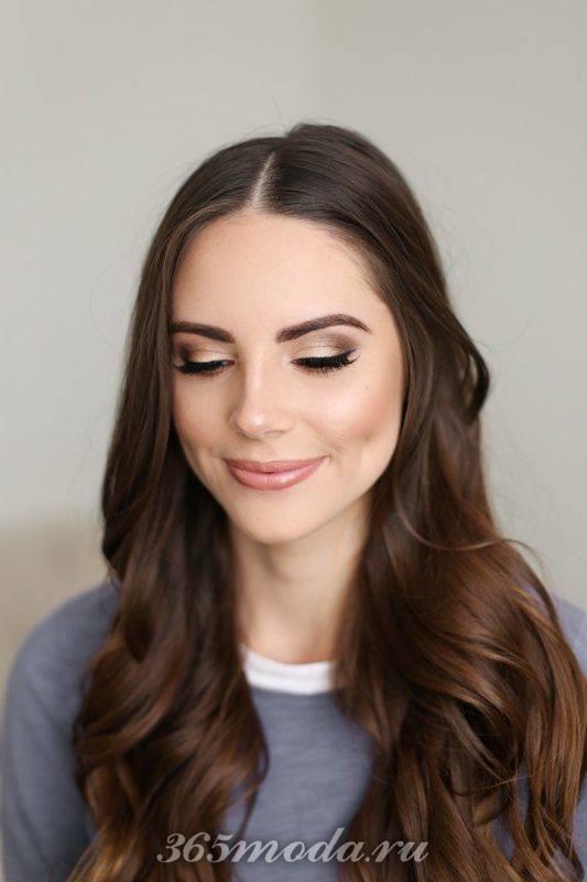 Модный макияж для брюнеток на выпускной 2019