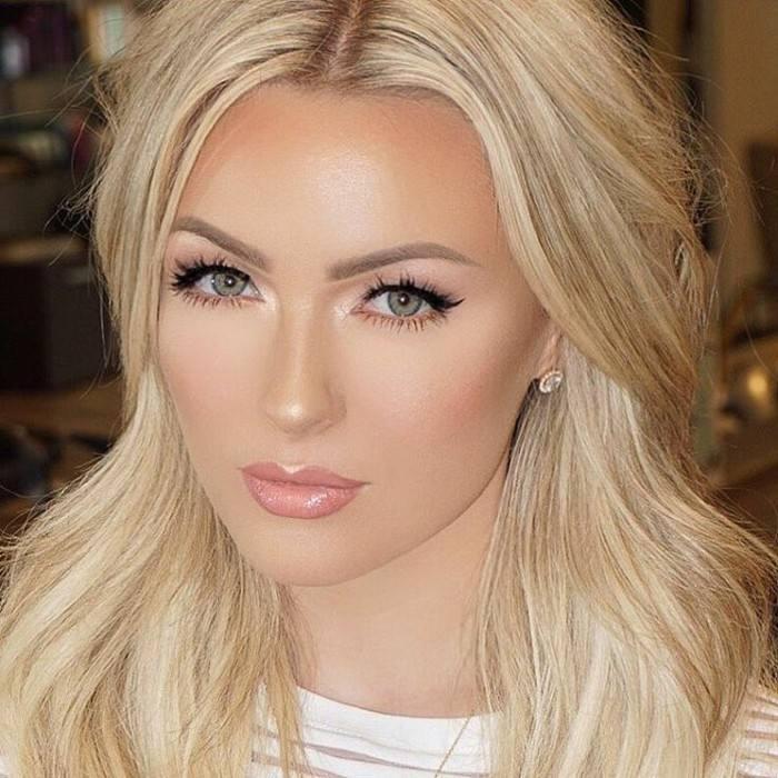 Модный макияж для блондинок на выпускной 2020