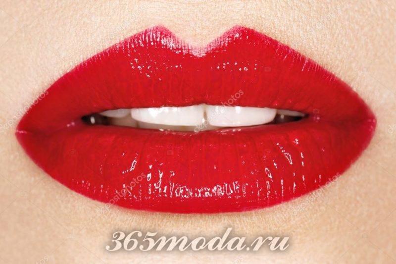 Модный цвет губ