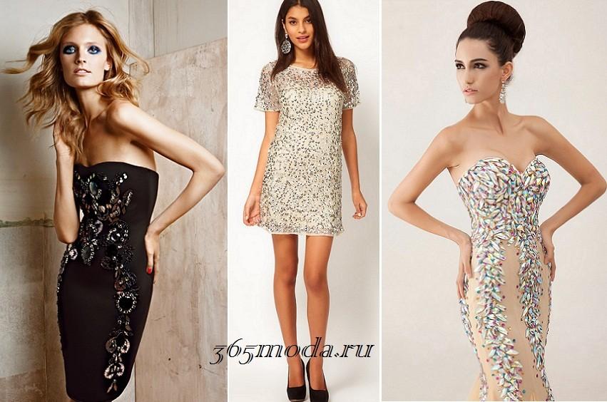 Как украшать платья стразами