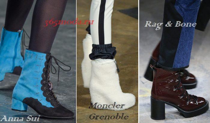 Модная обувь осень-зима 2019-2020