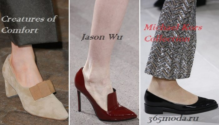 5c6dc3ae6b2 Жми! Модная обувь осень-зима 2019-2020  фото