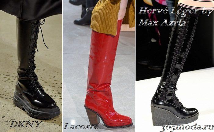 обувь осень-зима 2019-2020
