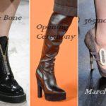 Модная обувь осень-зима 2018 2019 фото новинки тенденции