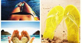 365 мода Модная пляжная обувь весна-лето 2016 новинки фото