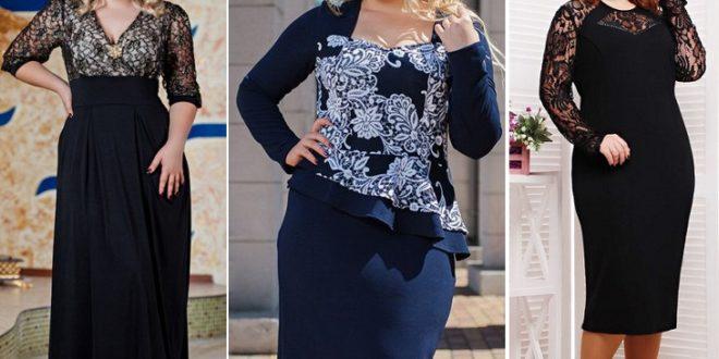 Модные платья для полных весна-лето 2019 новинки