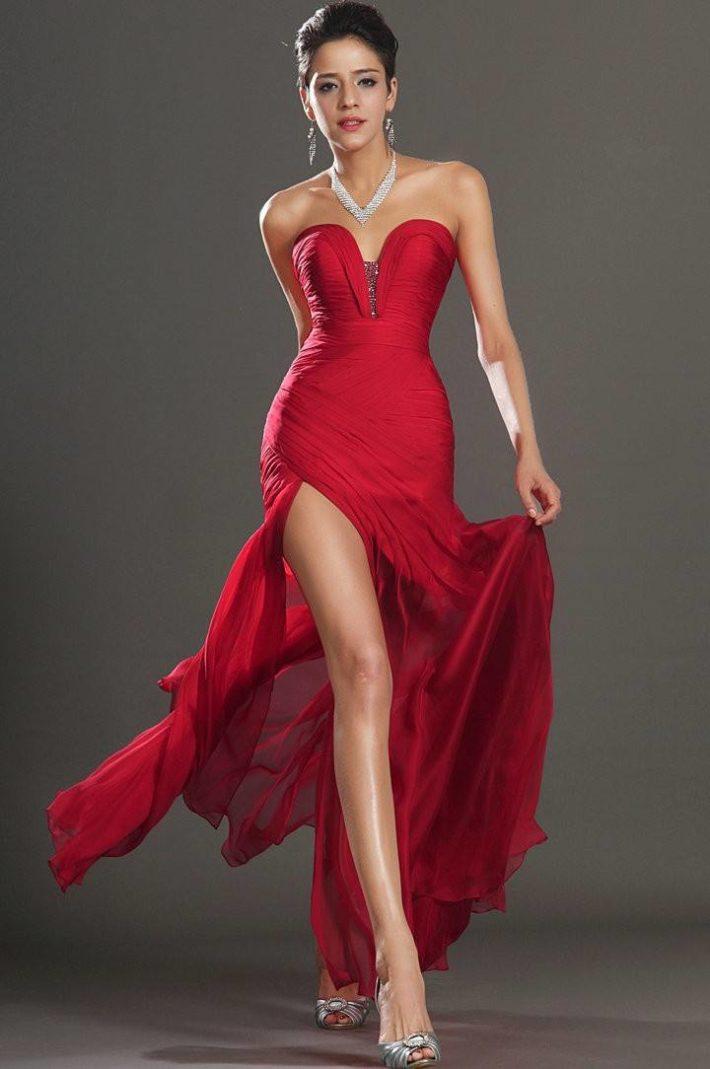 Стильное платье для нового года