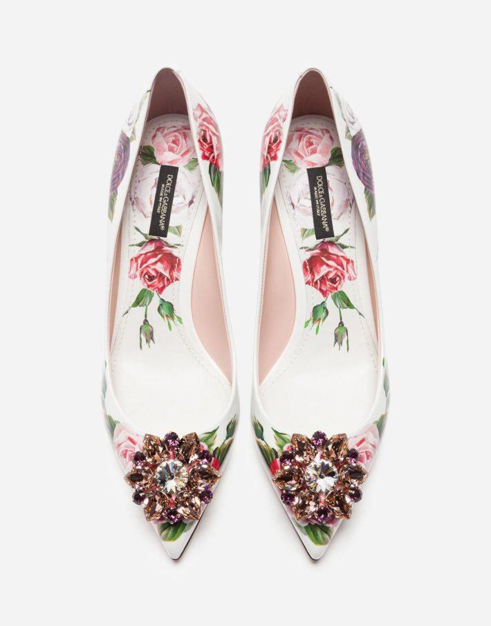 Женские туфли розовые
