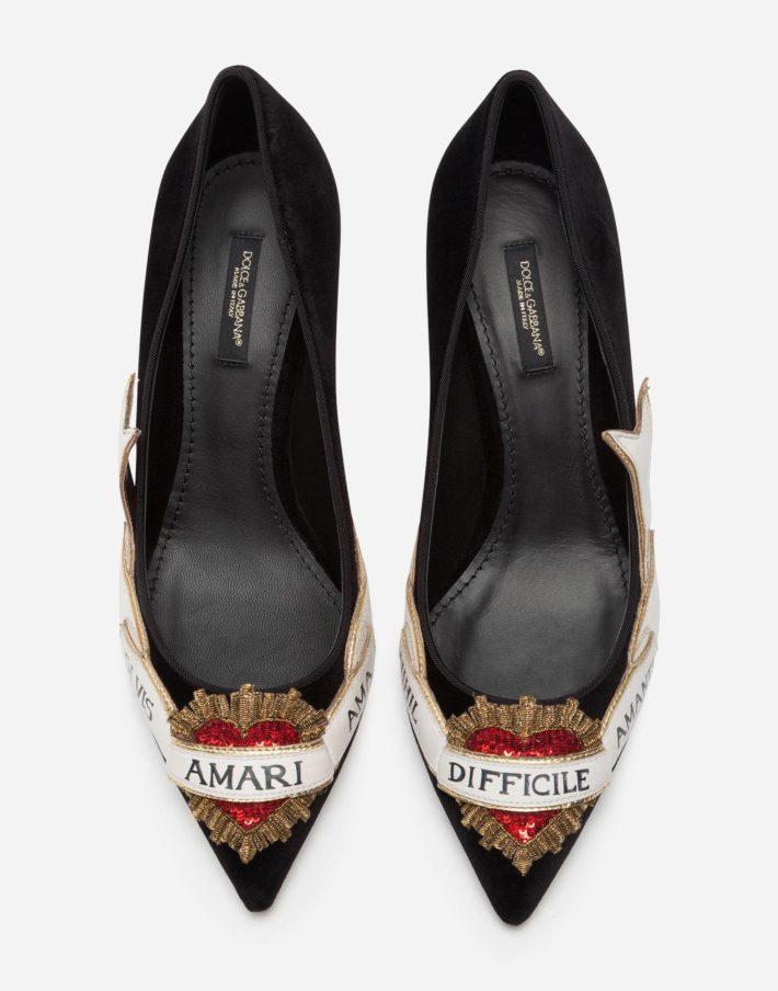 Женские туфли с декором
