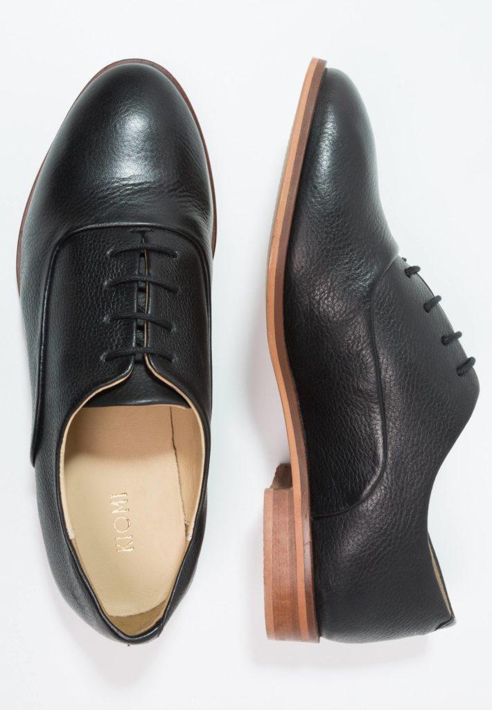 Модная обувь осень-зима 2019-2020: Женские туфли черные