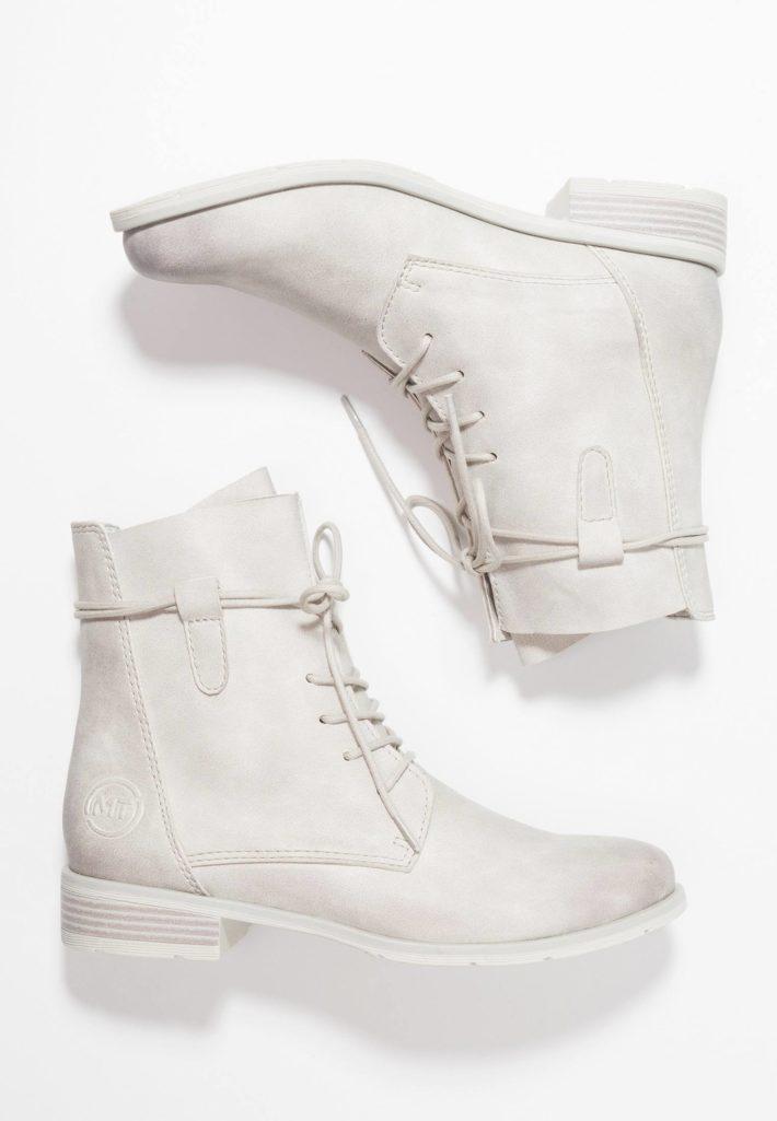 Модная обувь осень-зима 2019-2020: ботинки белые