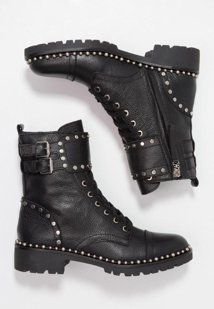 Модная обувь осень-зима 2019-2020: ботинки черные
