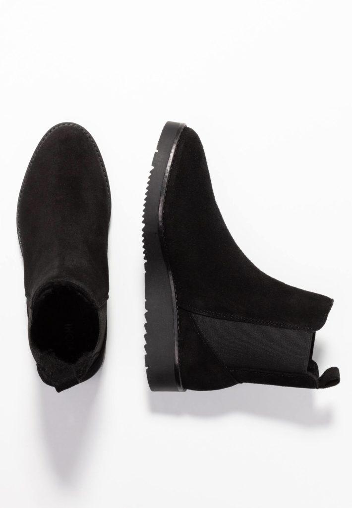 Модная обувь осень-зима 2019-2020: Ботинки женские черные