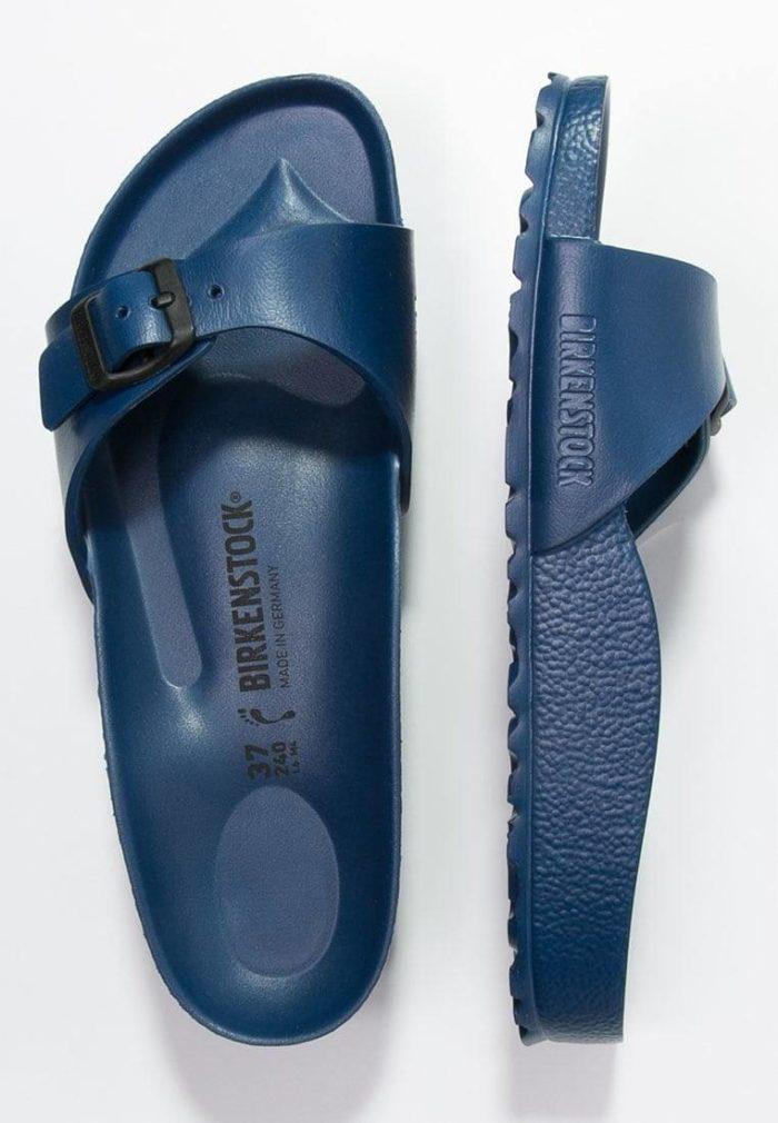 Шлепанцы синее