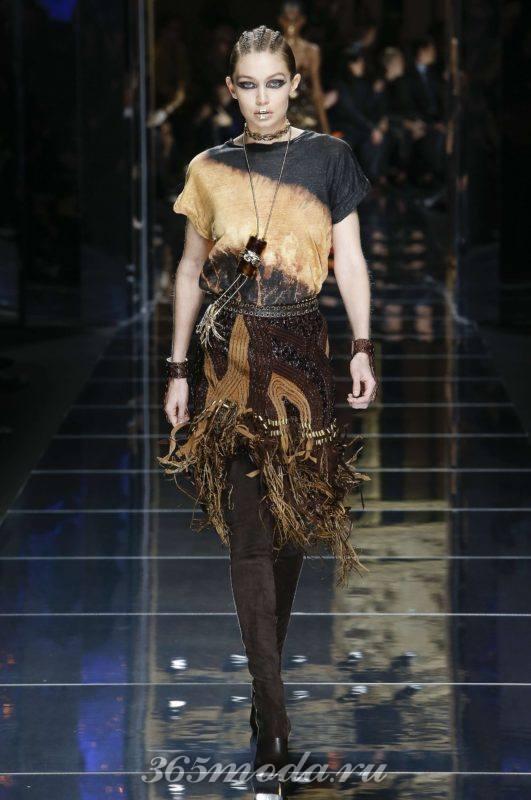 Модный лук в стиле гранж на лето и весну