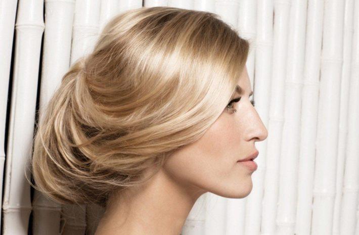 Новогодние прически для средних волос