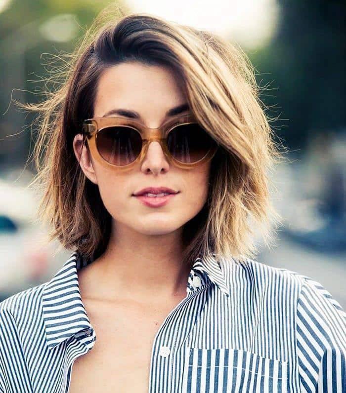 Стрижка на покрашенные волосы