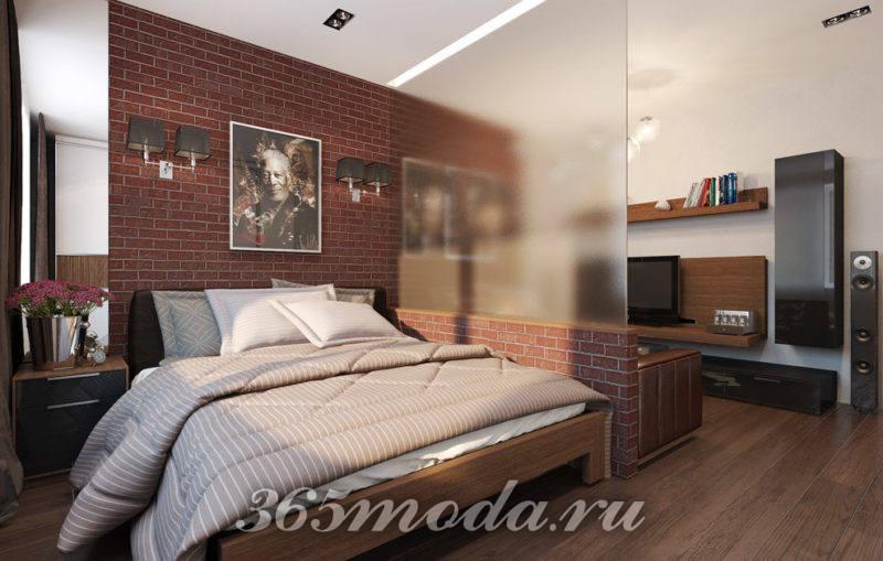 Стильный интерьер мужской квартиры