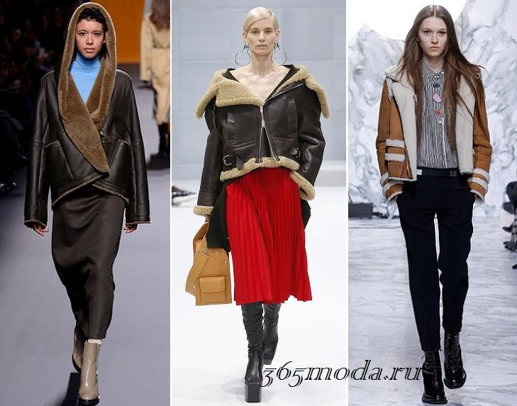 Модные дубленки осень-зима 2019-2020: фото, тенденции, новинки с подиумов