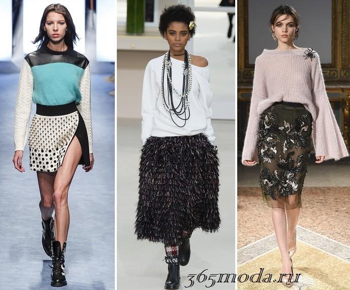 6acd3b406b5 Жми! Модные женские юбки осень-зима 2019-2020  111 фото тенденции тренды
