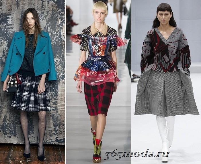 Модные юбки осенью 2017