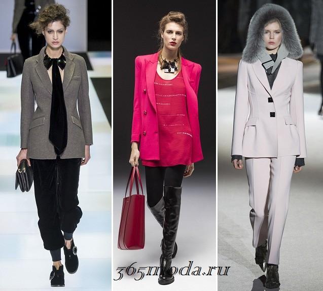 дизайнерские модели пиджаков