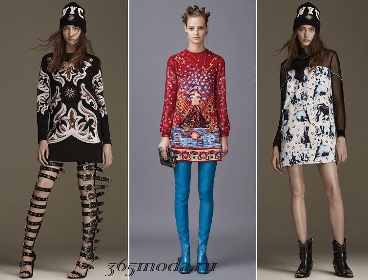 Модные фасоны туник