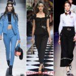 Модные женские брюки осень-зима 2018 2019 новинки фото