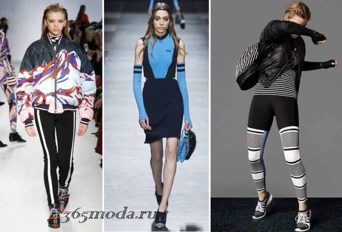 спортивный стиль одежды 2021-2022: показ