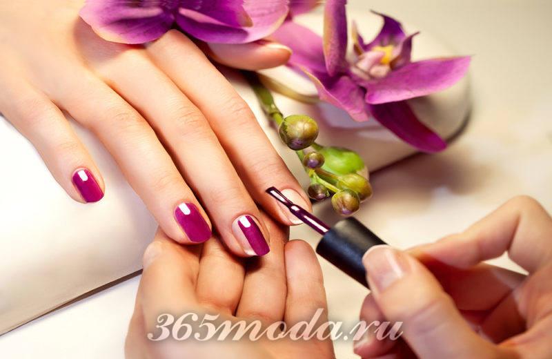 Модный дизайн ногтей шеллаком