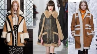Модные дубленки осень-зима 2018 2019 новинки тенденции фото