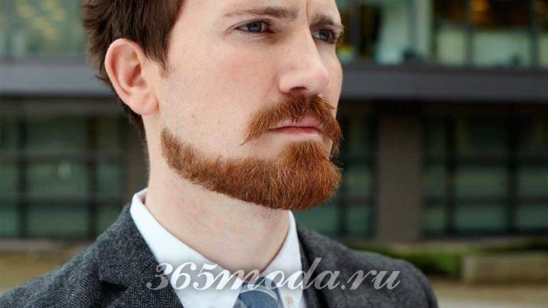Стильная борода якорь