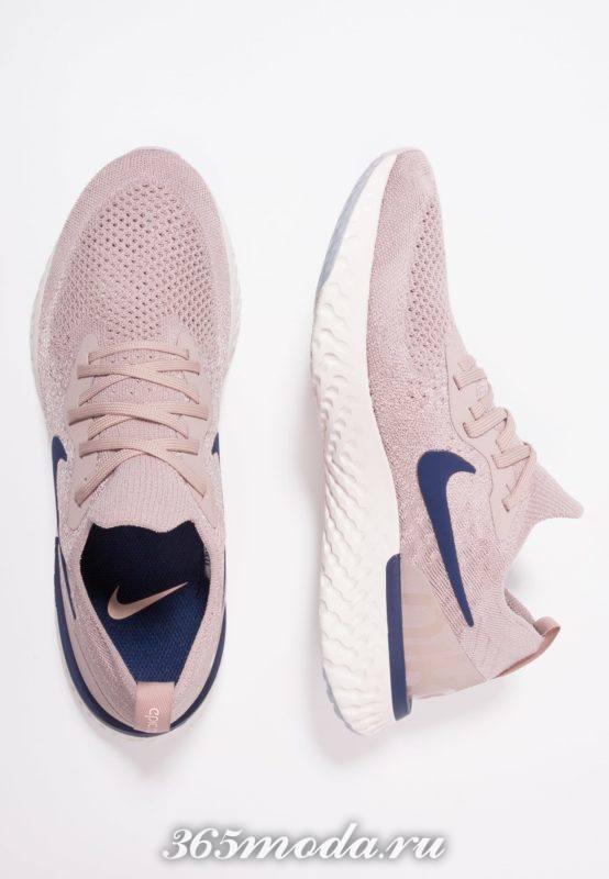 Мужские кроссовки розовые