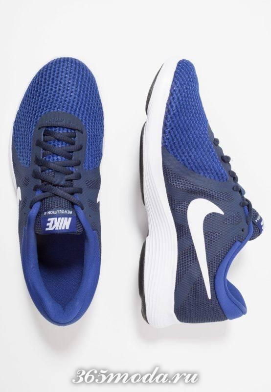 Мужские кроссовки синие