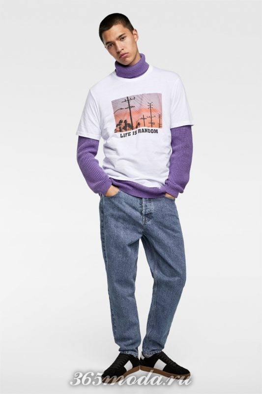 Мужская футболка стильная