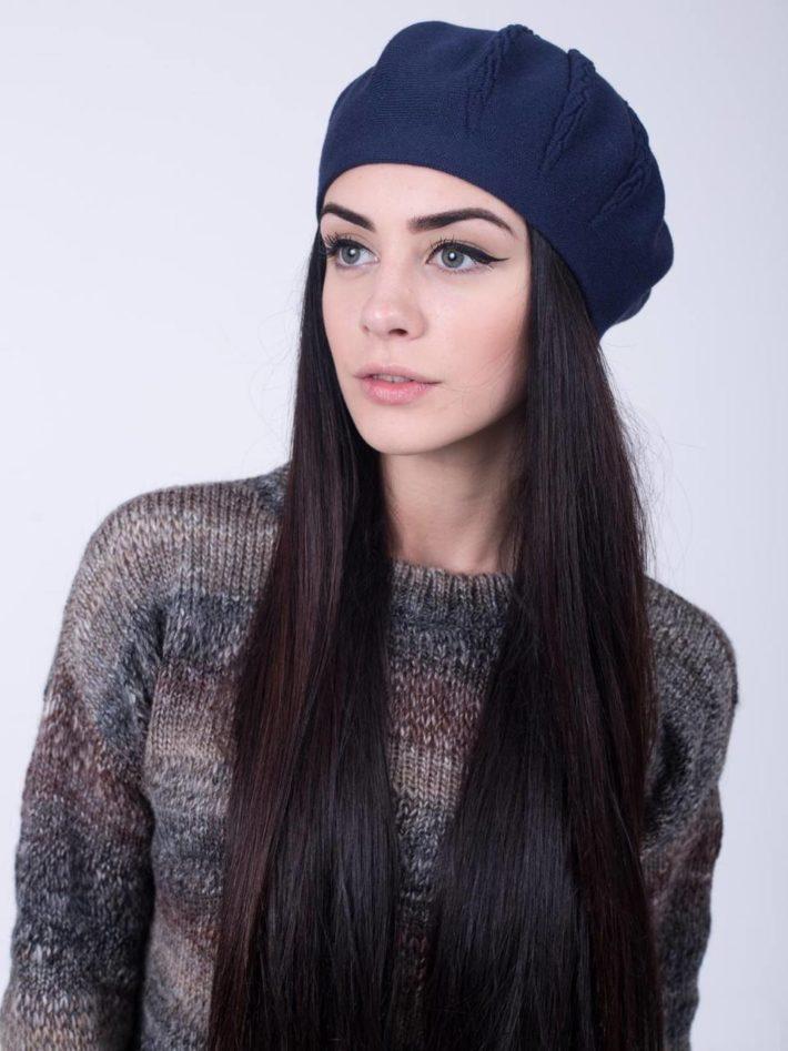 модный головной убор осень-зима: Женский берет