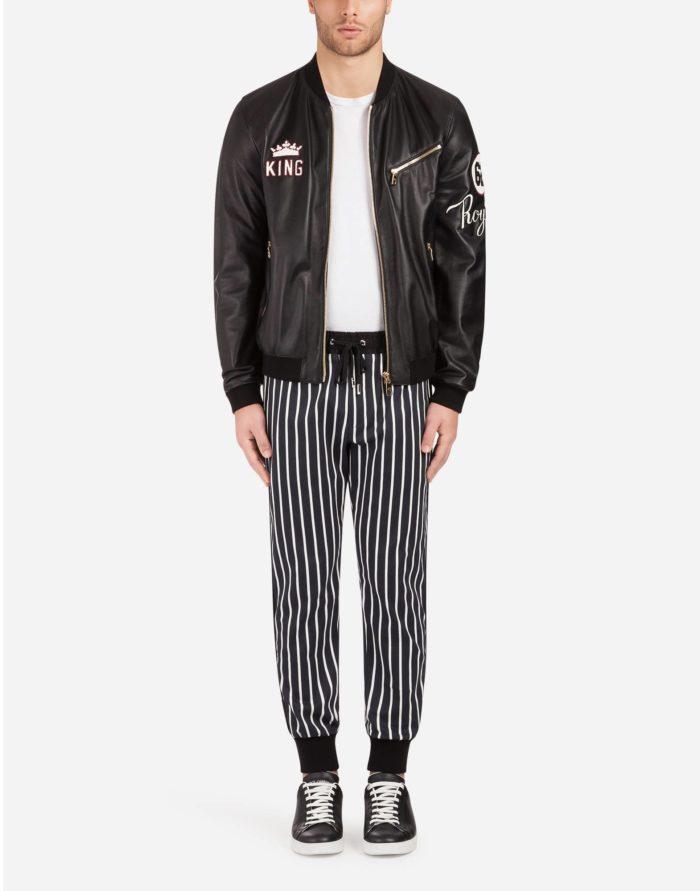 Стильный мужской образ с курткой