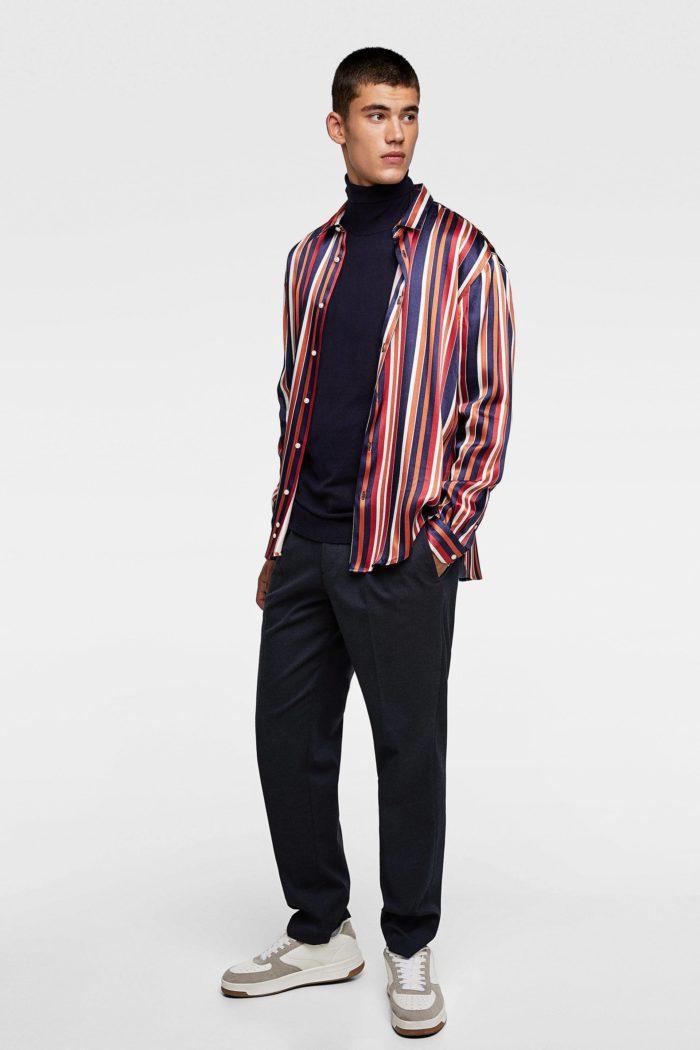 Мужской образ в рубашке