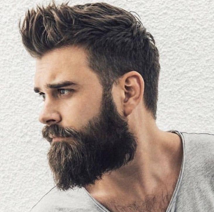 Прическа и борода
