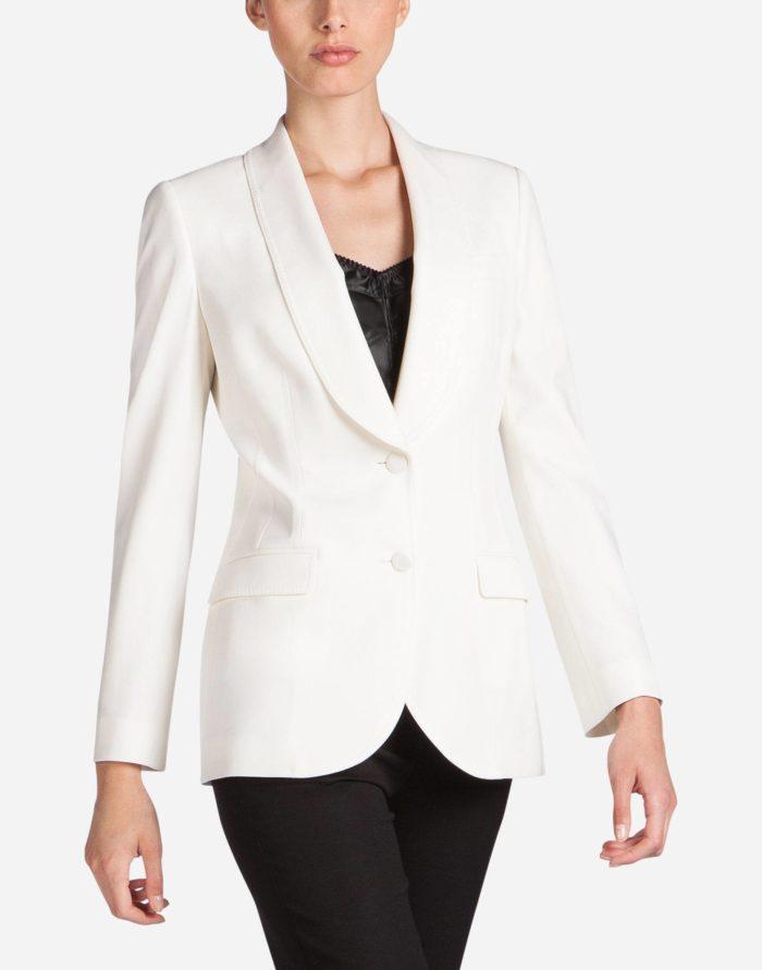 модные жакеты осень-зима 2019-2020: белый