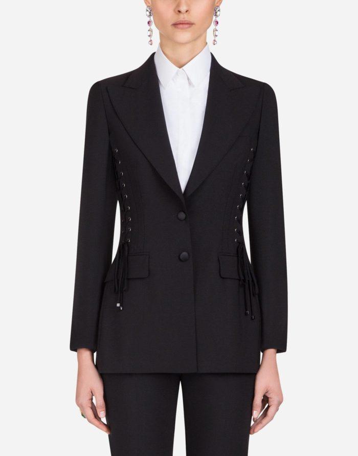 модные жакеты осень-зима 2019-2020: черный