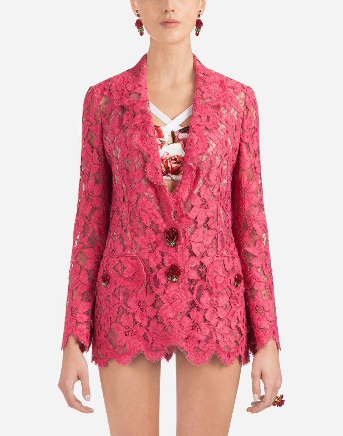 модные жакеты осень-зима 2019-2020: розовый