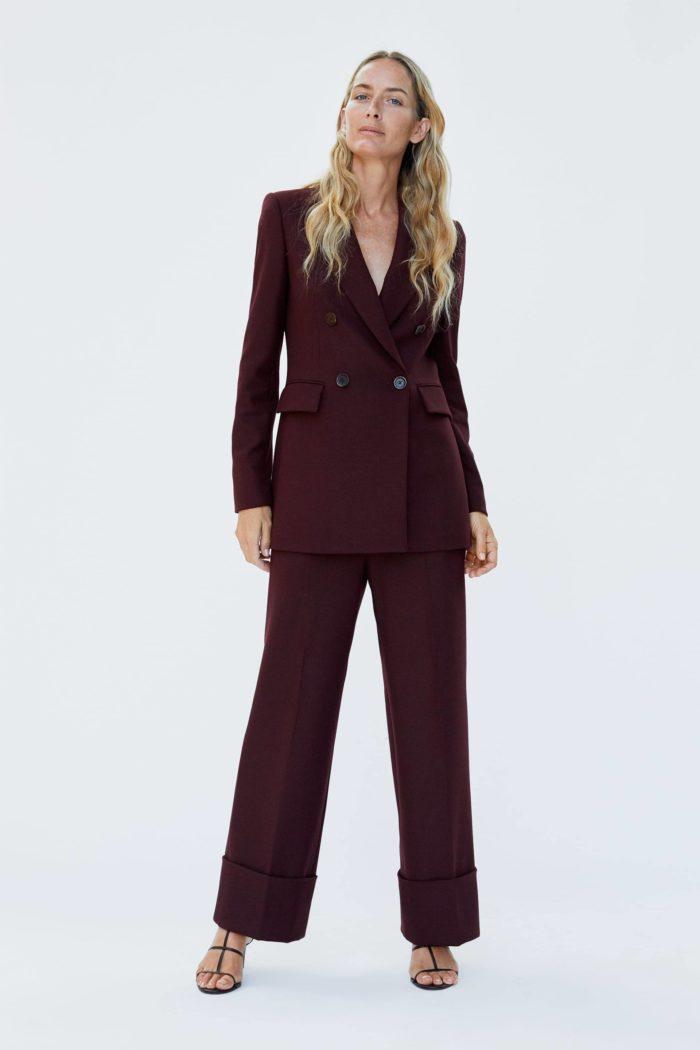 Женский пиджак черный