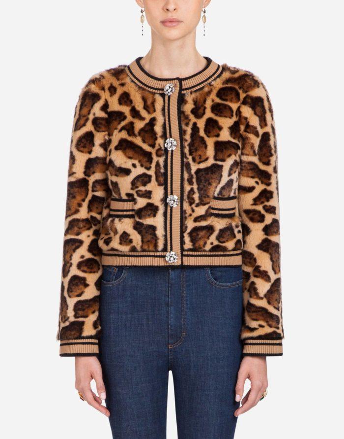 модные жакеты осень-зима 2019-2020: тигровый