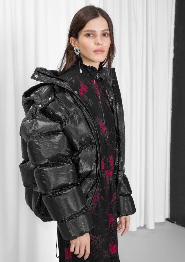 Модные пуховики осень-зима 2019-2020: дутый