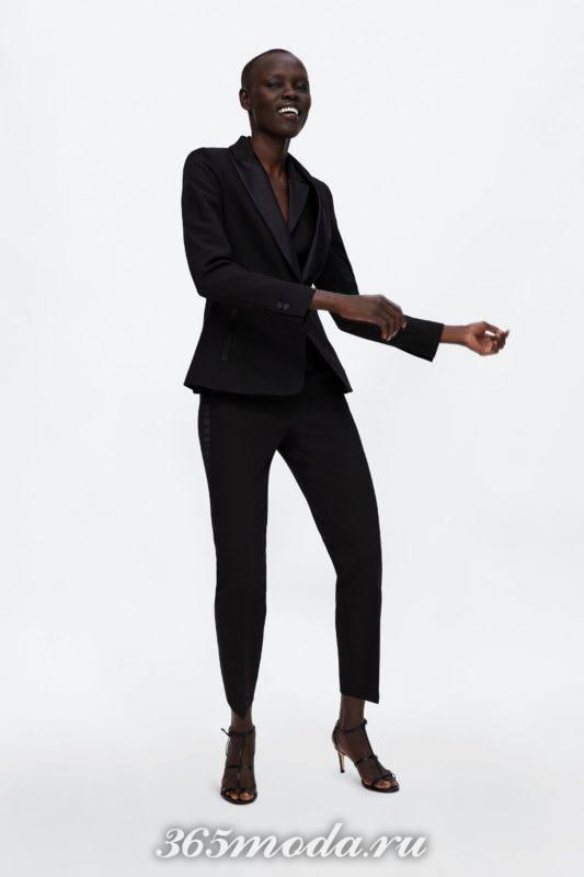 Женские брюки черные