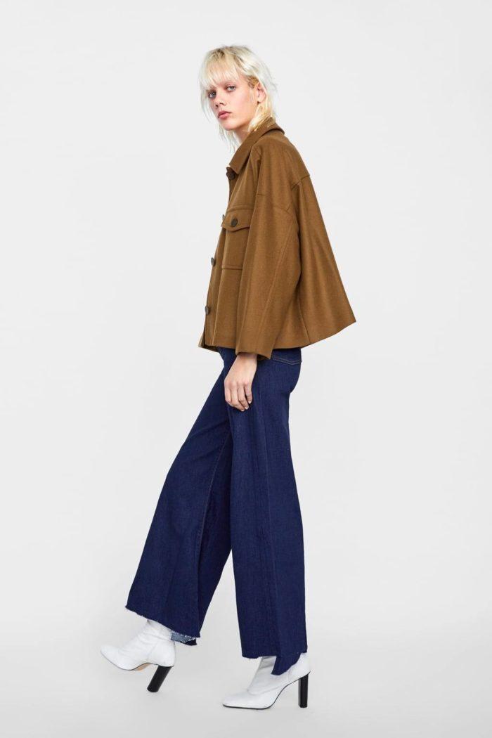болотная куртка миди