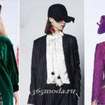 Модные шапки и шляпы осень-зима 2018 2019 новинки фото
