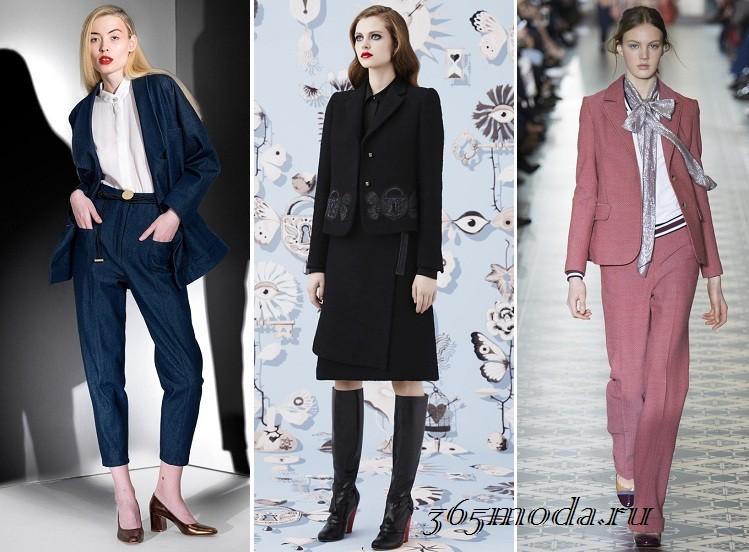Женские костюмы 2017