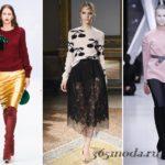 Модные женские свитера осень-зима 2018 2019 новинки фото